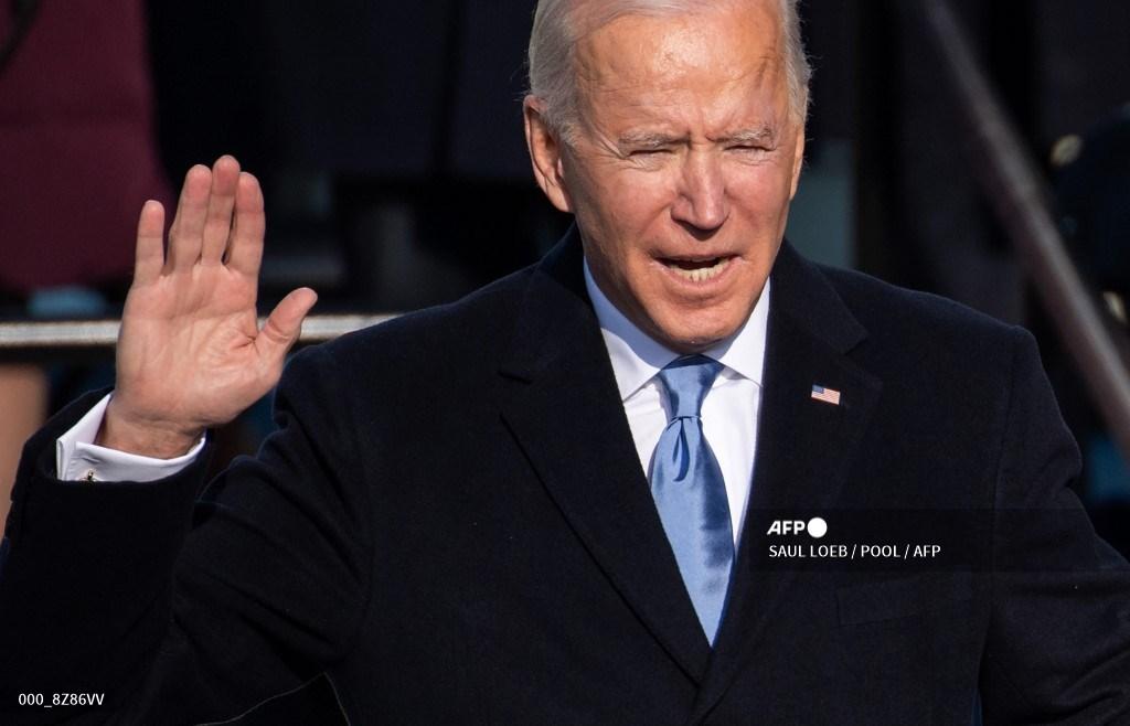 Joe Biden jura como presidente de Estados Unidos