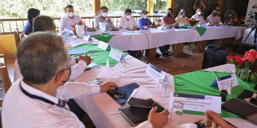 MARN se reúne con alcaldes de Retalhuleu