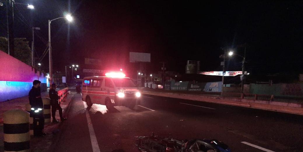 Motorista muere atropellado en ruta al Pacífico