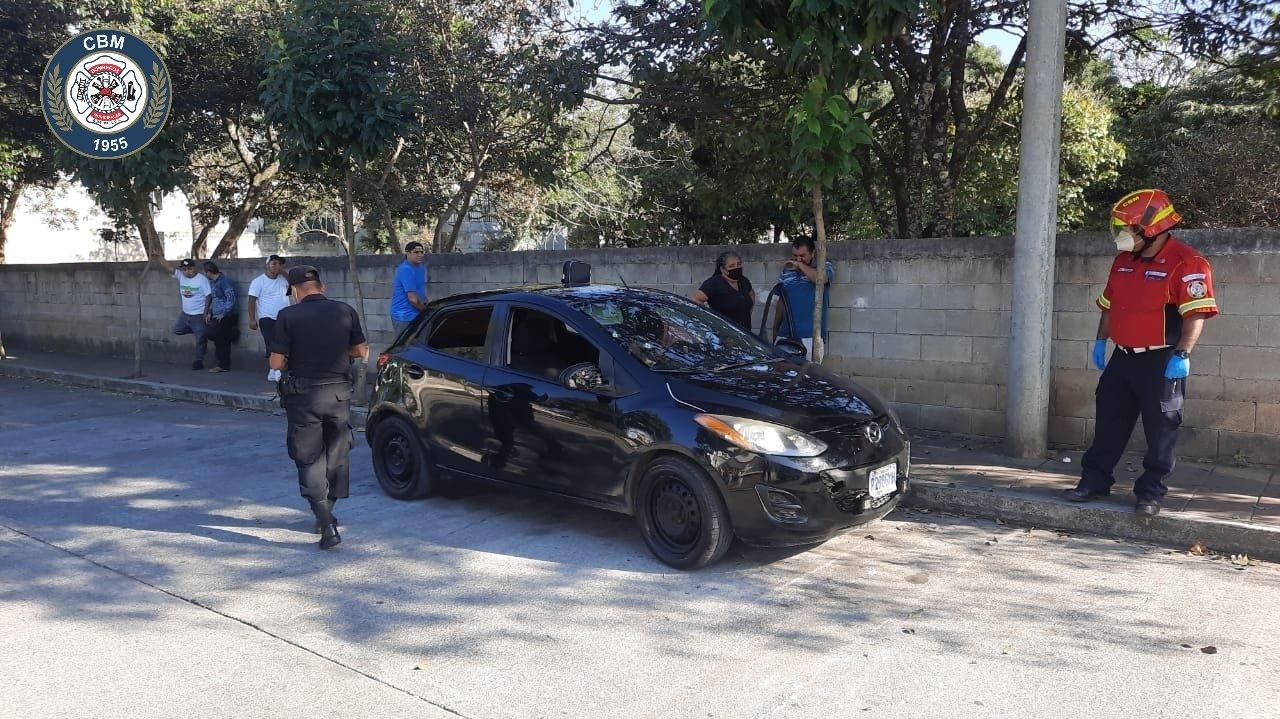 Conductora de vehículo muere por ataque armado en zona 18