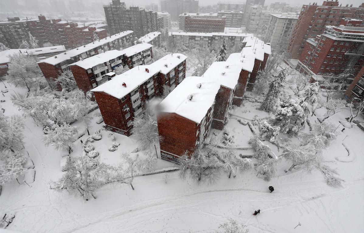 Nieve España - Enero 2021