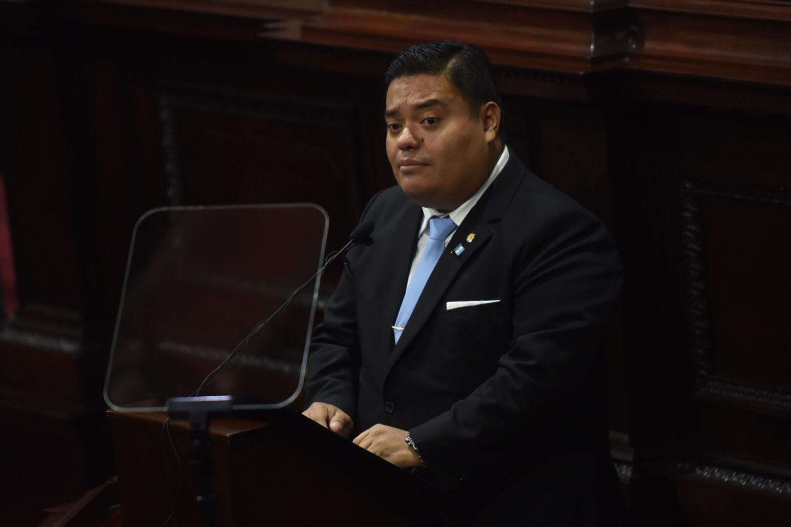 presidente del Congreso, Allan Rodríguez