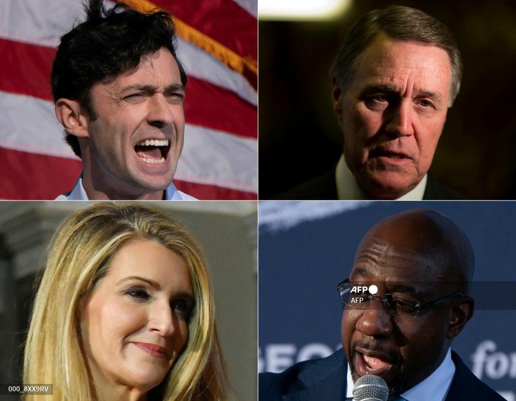 Candidatos a elección en Georgia