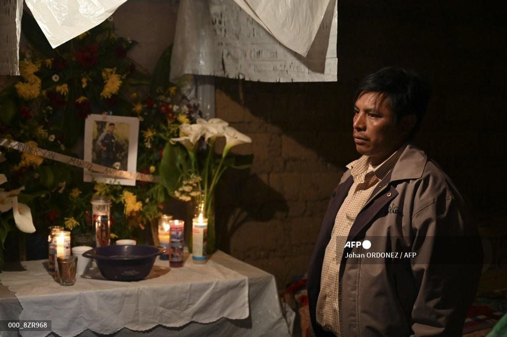velorio de migrantes guatemaltecos supuestamente fallecidos en masacre en Tamaulipas, México