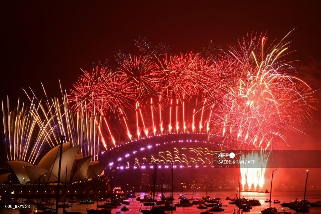Año Nuevo 2021 en Sídney