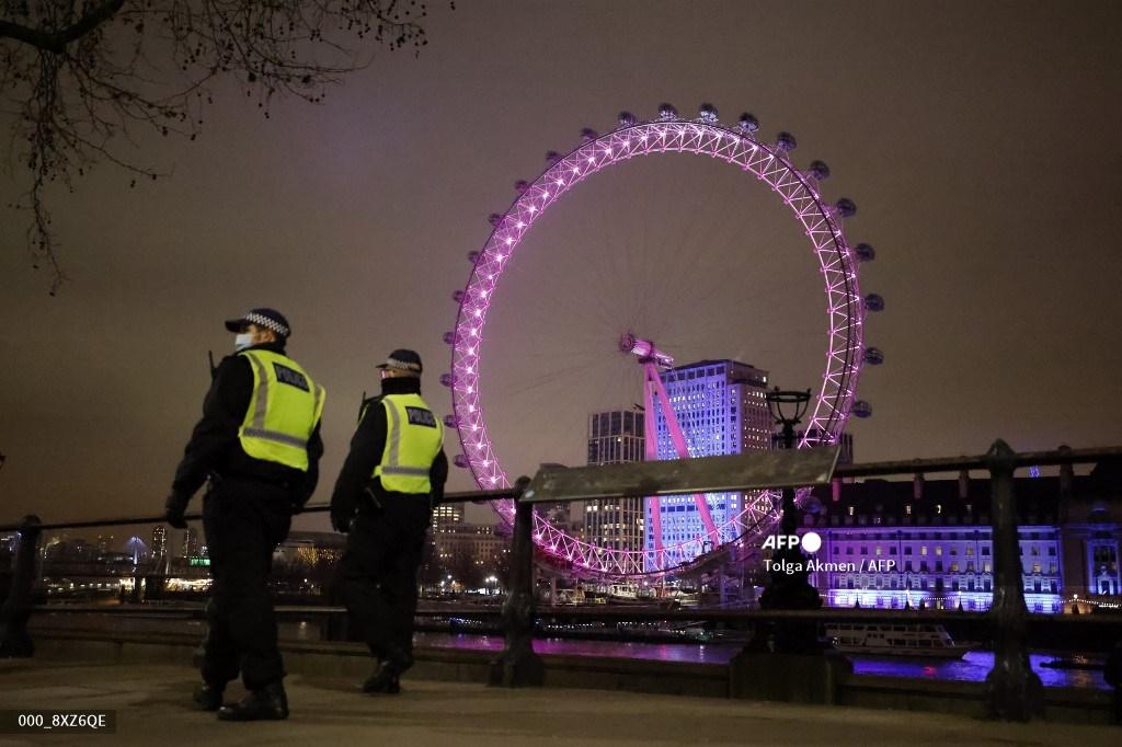 Año Nuevo 2021 en Londres