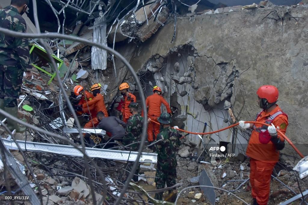 Terremoto en Indonesia, enero 2021