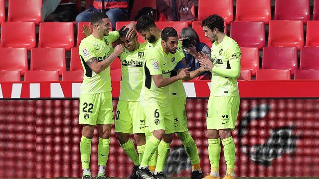 Atlético de Madrid derrota al Granada