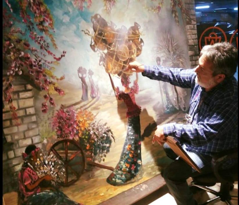 pintor guatemalteco Alejandro Wer