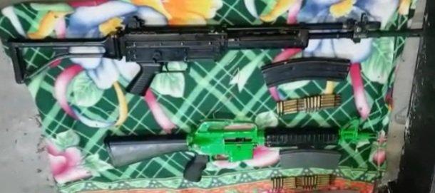 Capturan a presunto distribuidor de armas del Barrio 18