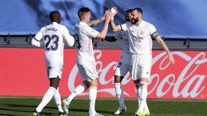 Triunfo del Madrid sobre el Valencia