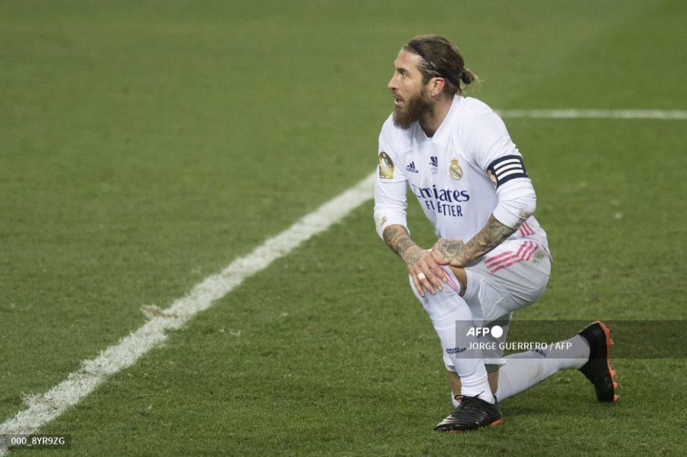 Sergio Ramos ha sido operado de su rodilla derecha