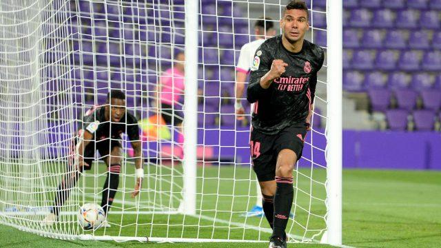 Real Madrid derrota por la mínima al Valladolid