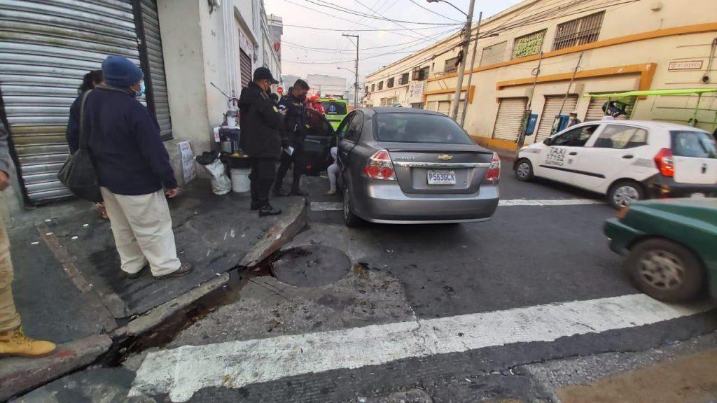 accidente en zona 1