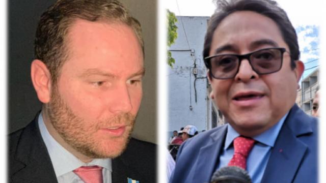 diputado Álvaro Arzú Escobar y PDH Jordán Rodas