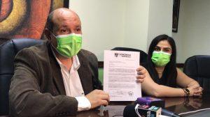 Bancada UNE pide a Giammattei declarar lesivo el contrato de compra de pruebas de Covid-19