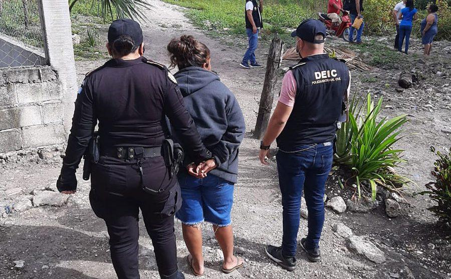 Capturada por crimen de Sharon Figueroa Arriaza