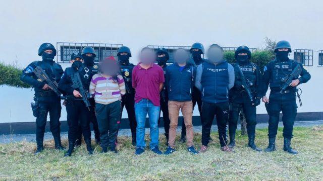 capturan a integrantes de banda de secuestradores en Huehuetenango