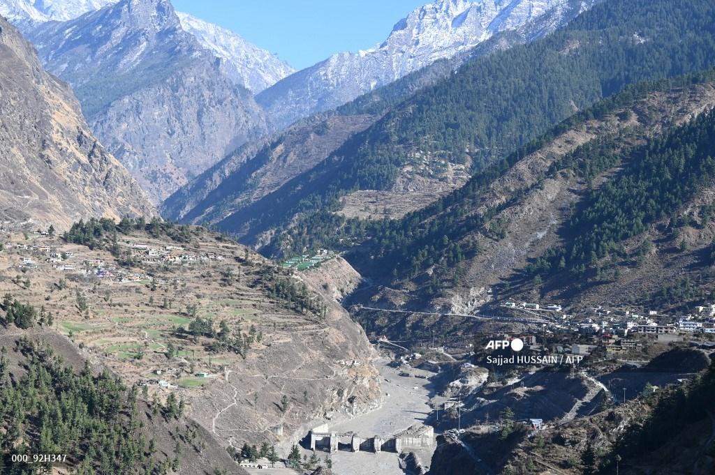 Desprendimiento de glaciar en la India