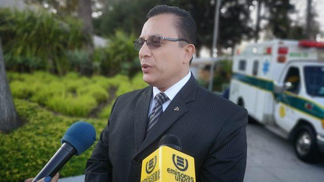 Luis Fernando Ruiz, expresidente del CANG.