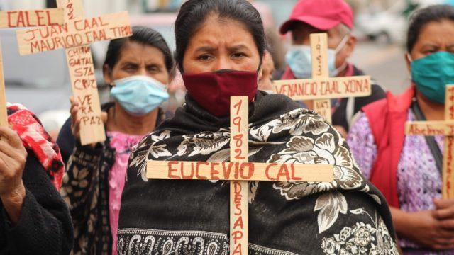 Marcha por la dignidad de las víctimas del conflicto armado interno