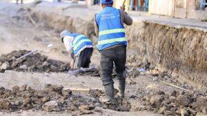 mejoramiento de carretera en Quiché