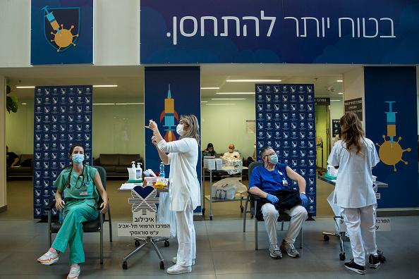 Vacunación contra el Covid-19 en Israel