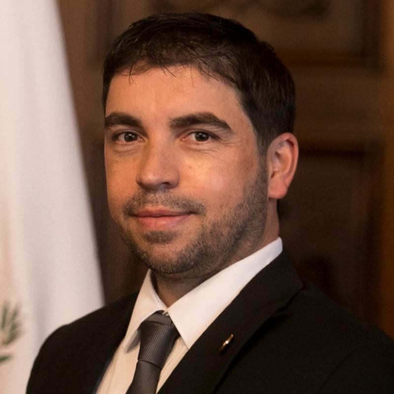 Ronaldo Estrada Rivera, viceministro de Cultura