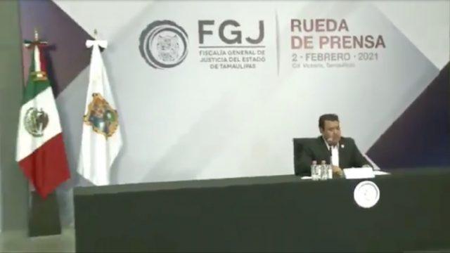Irving Barrios Mojica, fiscal de Tamaulipas, habló de la investigación por la masacre contra migrantes.