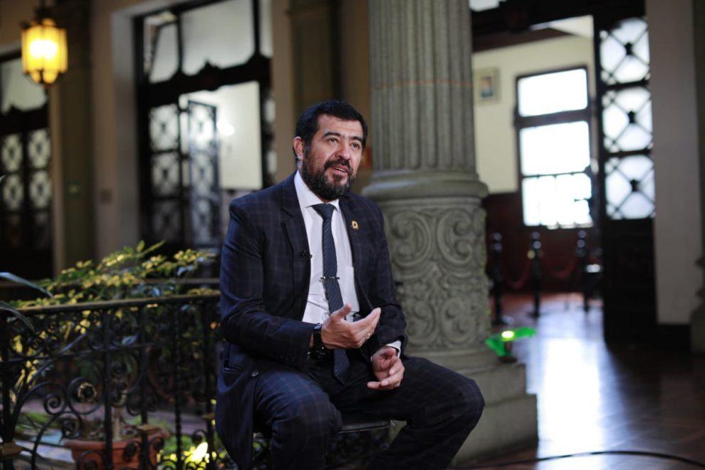 Miguel Ovalle, presidente de la Asociación Nacional de Municipalidades (Anam).