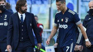 Pirlo quiere que Cristiano siga en la Juventus la próxima temporada