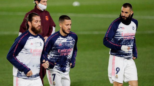 Ramos y Hazard regresan a una convocatoria del Real Madrid