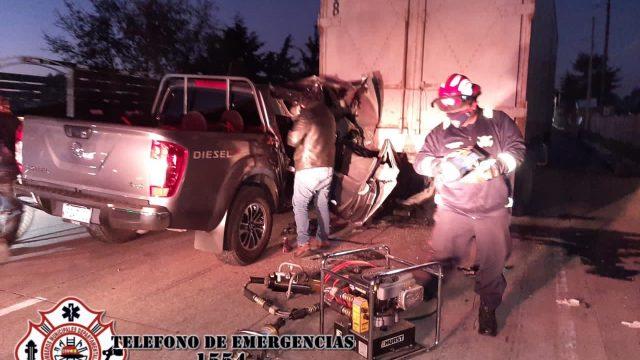 personal de FECI se accidenta en Chimaltenango