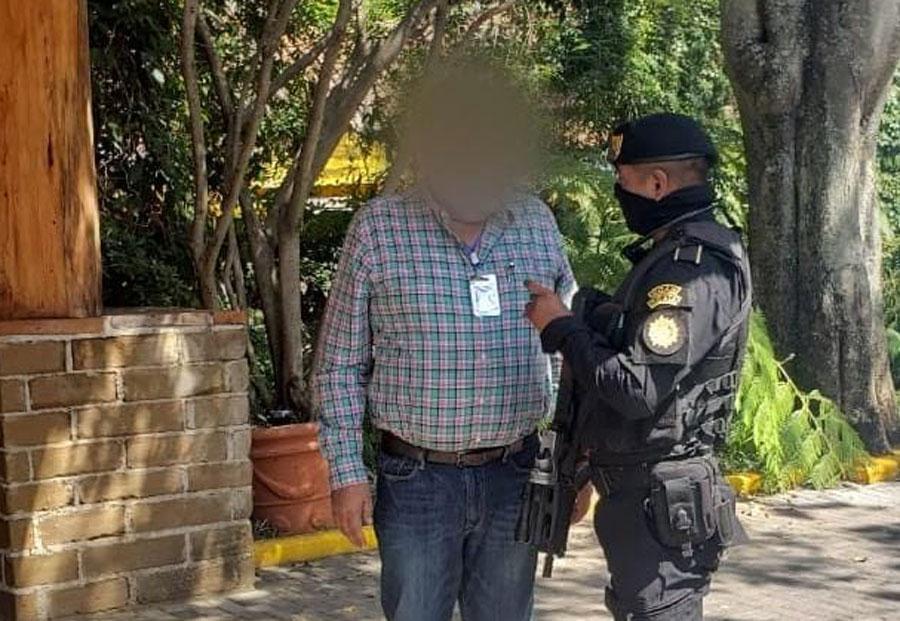 Adalberto Fructuoso Comparán Rodríguez es detenido en Guatemala
