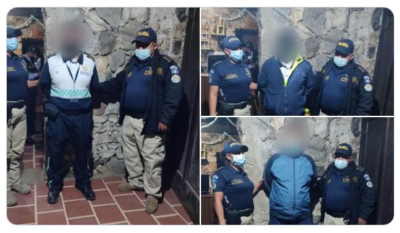 agentes de policía municipal de Antigua capturados por muerte de hombre