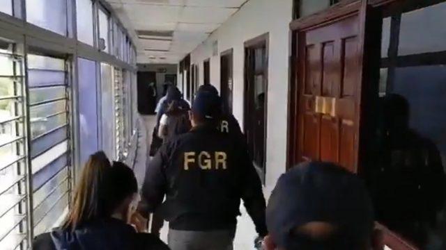 Allanan oficinas del Congreso de El Salvador