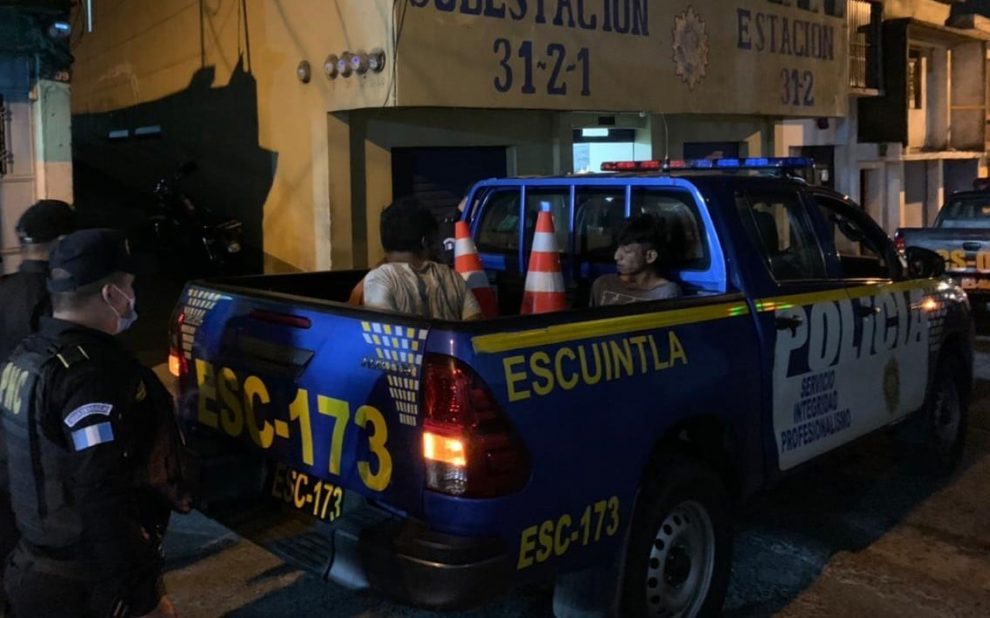 capturan a asaltabuses en Escuintla