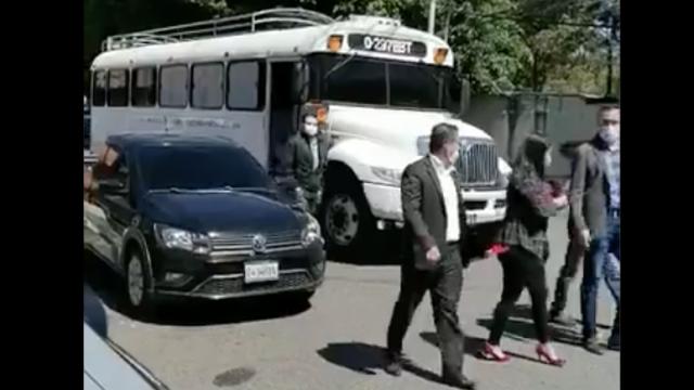 PDH informa de uso de autobús del Ministerio de Ambiente para trasladar a votantes por elecciones de CC