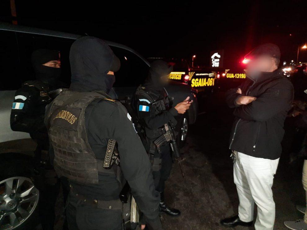 capturan al presunto narcotraficante Byron Berganza Espino