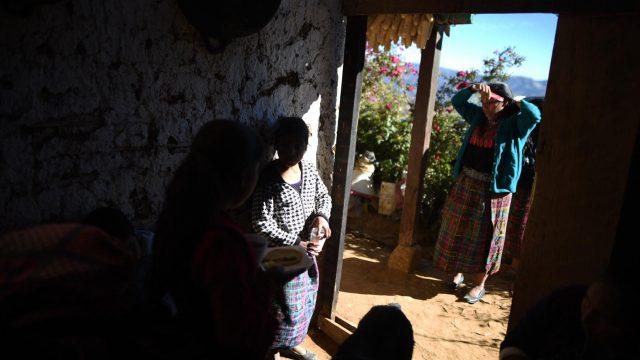 Familiares de Santa Cristina García, asesinada en Tamaulipas, México