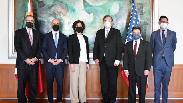 Altos funcionarios de Estados Unidos viajaron a México para verificar el tema migratorio