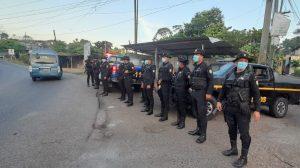 estado de prevención en Malacatán, San Marcos