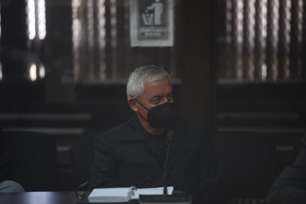 expresidente Otto Pérez pide arresto domiciliario