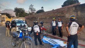 hombre muere tras ser sometido por policías en Antigua Guatemala