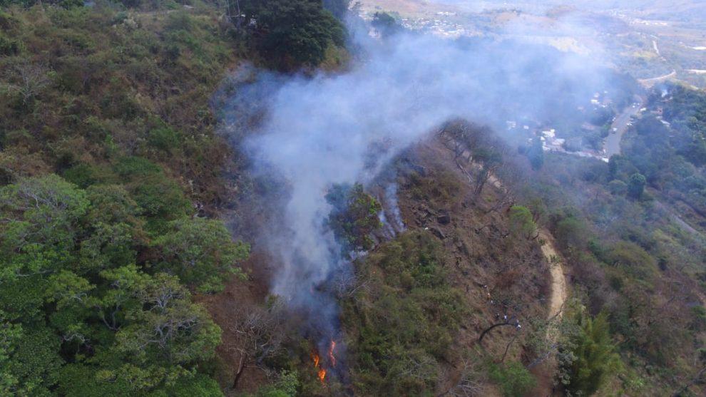 incendios forestales en Guatemala
