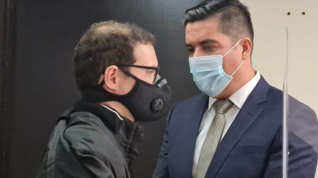 Luis Enrique Martinelli en audiencia de extradición