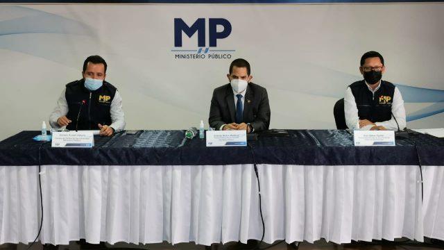 MP presenta el caso Narcotráfico Municipal, que involucra a Tres Quiebres