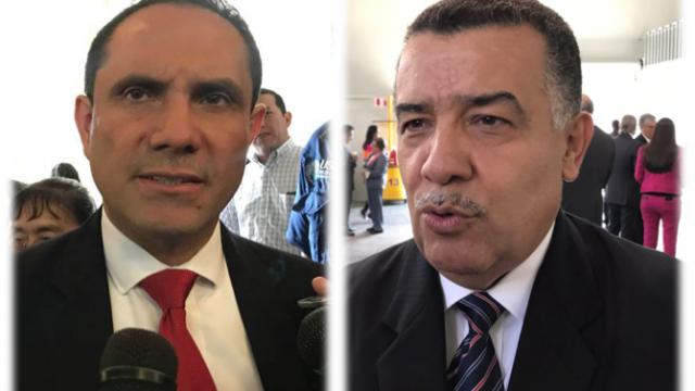 Murphy Paiz y Estuardo Gálvez