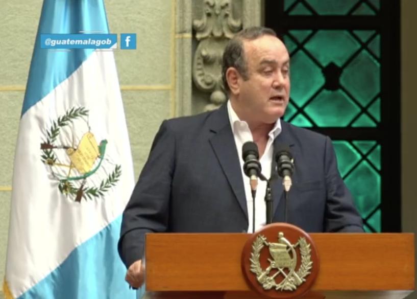 presidente Alejandro Giammattei presenta resultados de Gran Cruzada contra la desnutrición