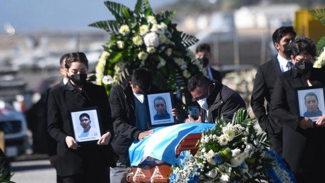 repatriación de cuerpos de guatemaltecos fallecidos en masacre en Tamaulipas